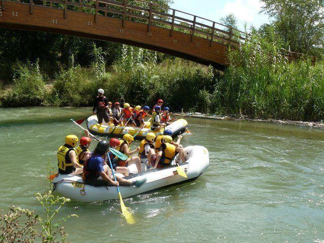 Rafting con niños en Valencia 1