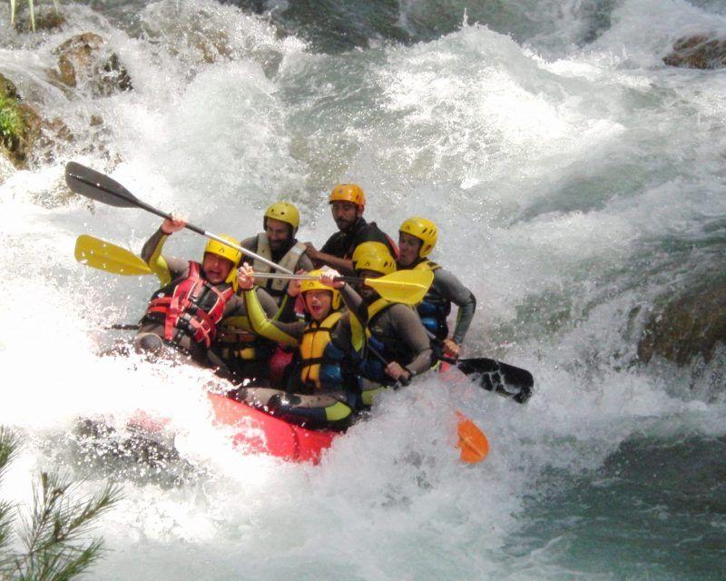 Rafting Montanejos Paso Grada Tonet 1