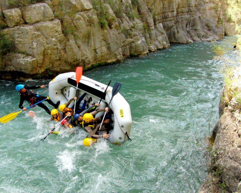 Rafting Montanejos Toni Vuelco 1