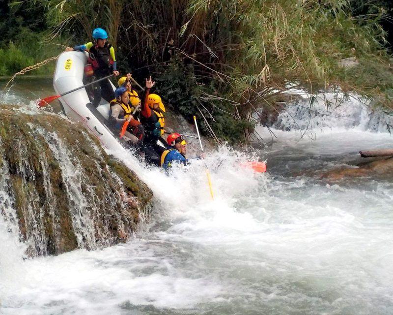 Rafting Montanejos Toni ultimo salto 1
