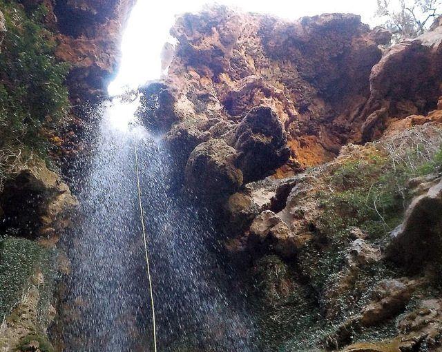 Barraquismo acuático en Teruel - Riodeva Barranco Amanaderos