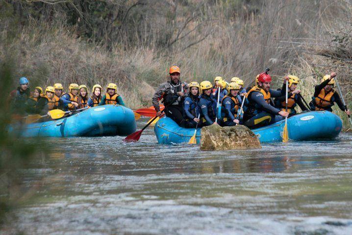 Rafting Valencia río Cabriel