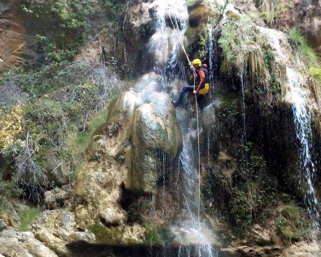 Barranquismo acuático en Castellón - Barranco Centenar en Zucaina (Castelllón)