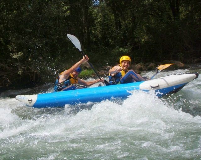 Kayak aguas bravas castellon 10