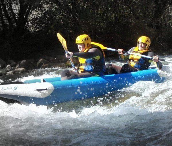 Kayak aguas bravas castellon 2