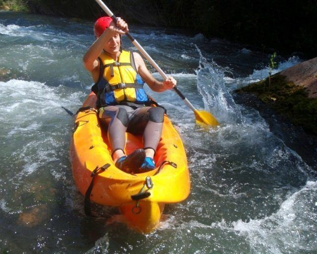 Kayak aguas bravas castellon 9