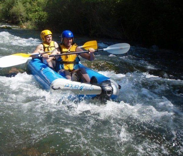 Kayak aguas bravas castellon 7