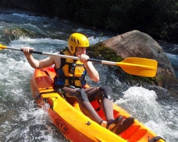 Kayak aguas bravas castellón 1