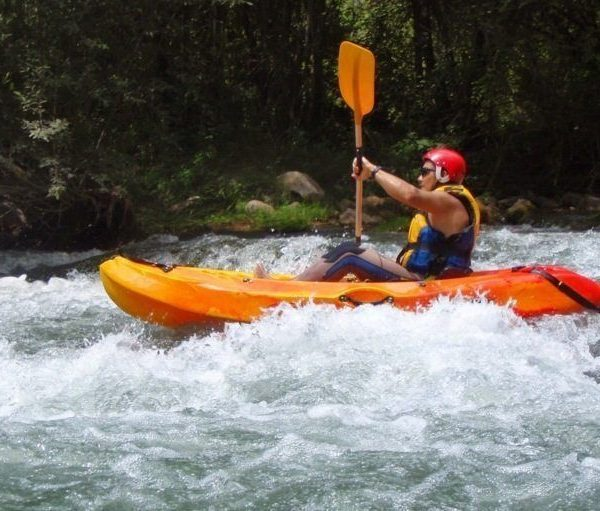 Kayak aguas bravas castellon 5
