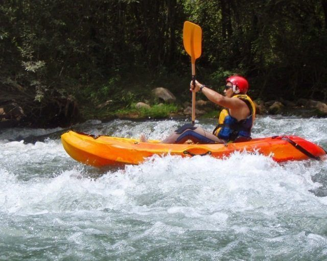 Kayak aguas bravas castellon