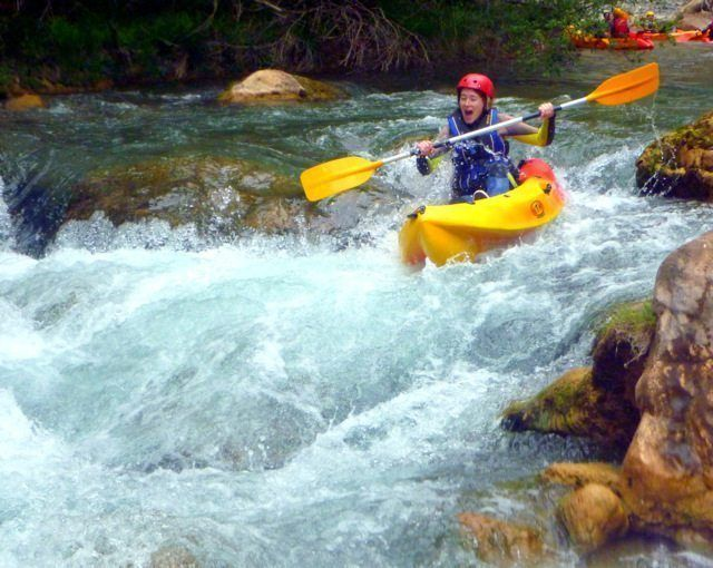 Kayak aguas bravas Montanejos