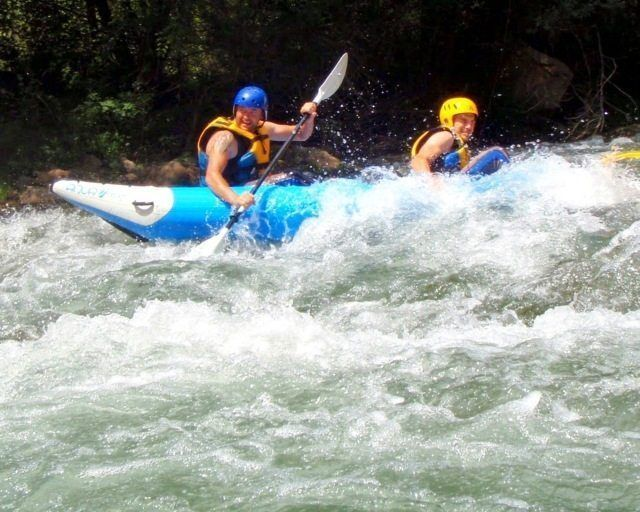 Kayak aguas bravas castellon 8