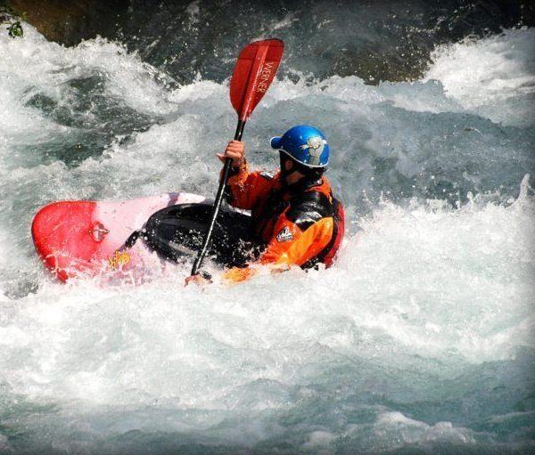 Kayak aguas bravas castellon 6