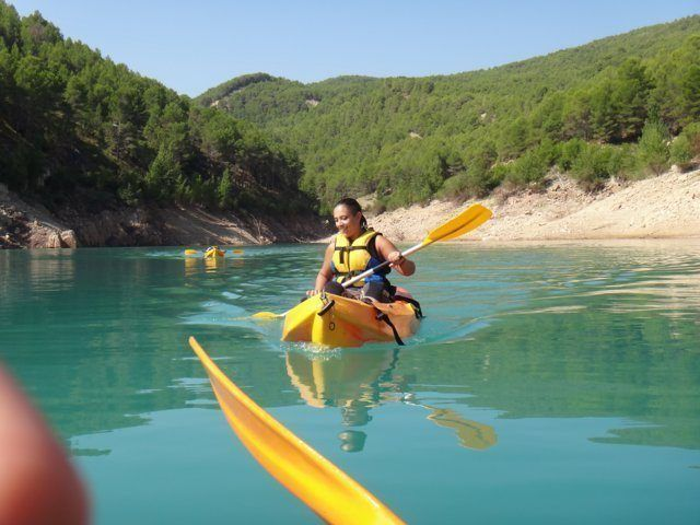 Kayak in the dam 6 with Somos Aventura in Castellón