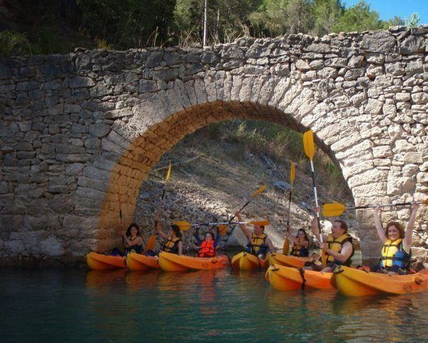 Kayak Valencia ruta por embalse