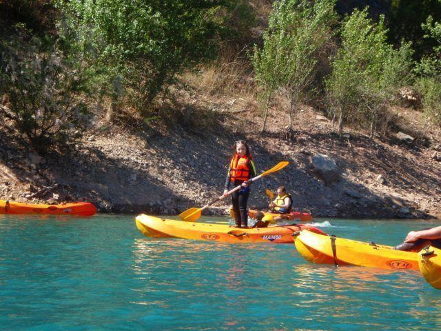 Kayak Valencia en familia
