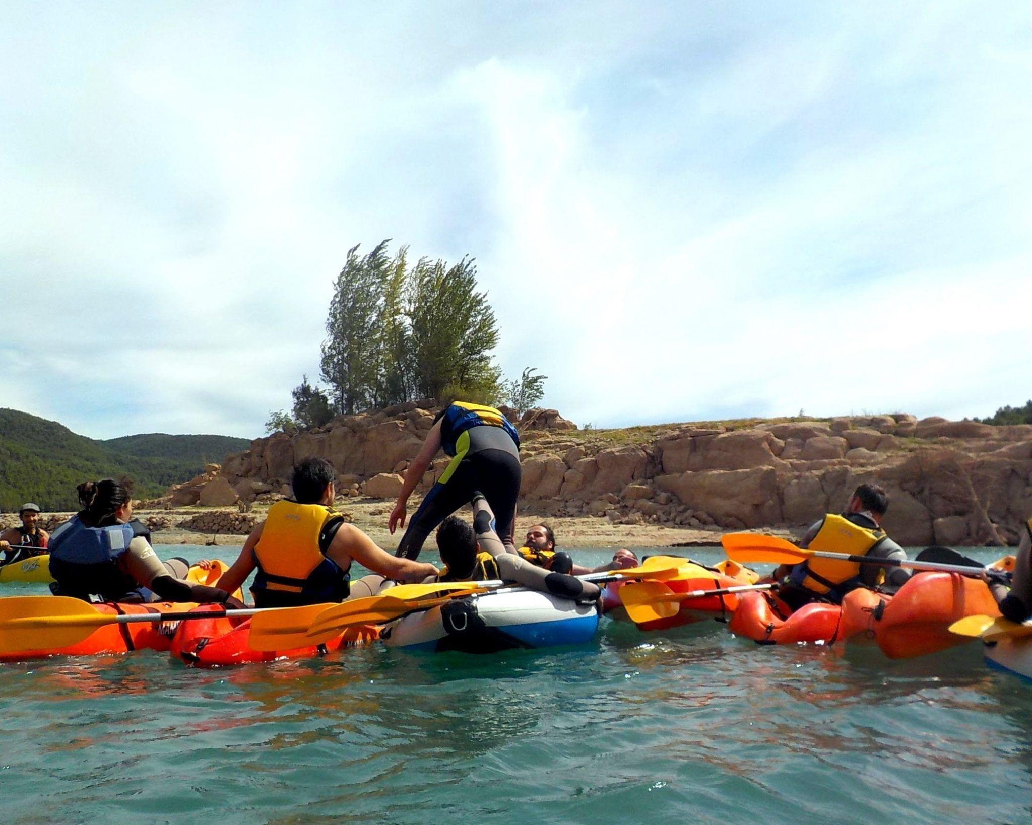 Kayak team building 2