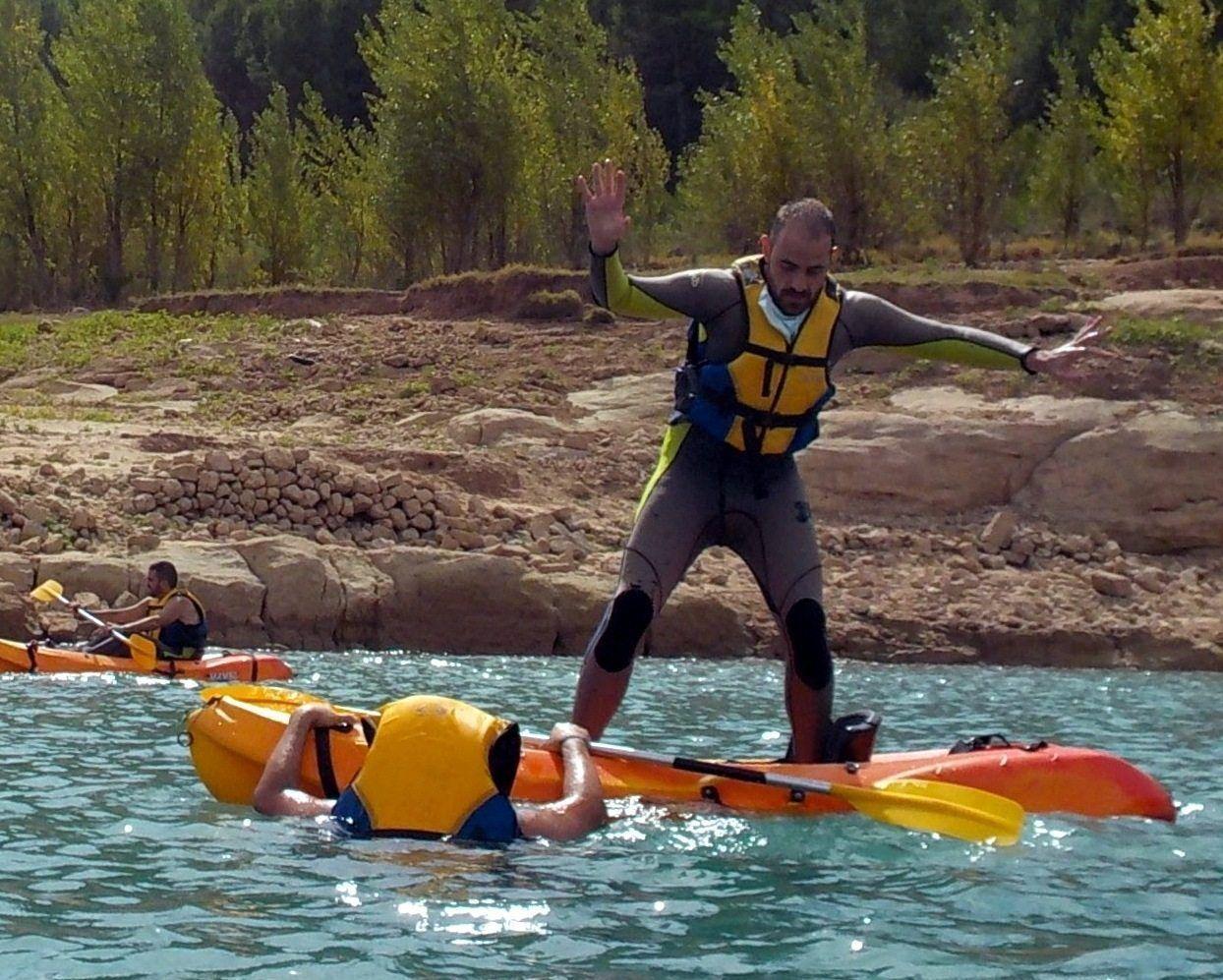 Kayak despedidas