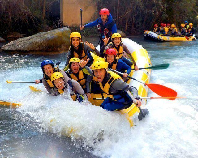 Rafting Montanejos pura diversion