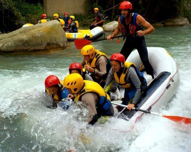 Rafting Montanejos en familia