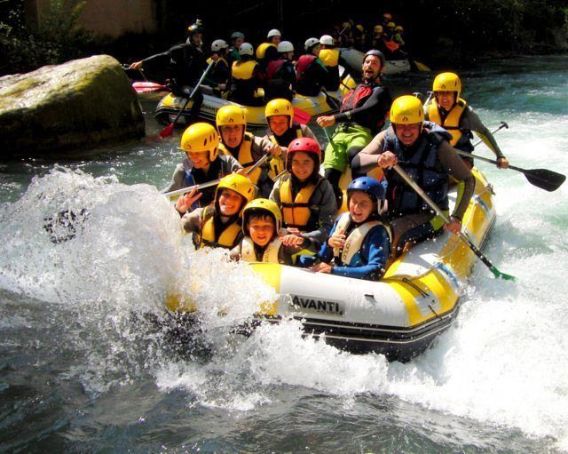 Rafting viajes fin de curso