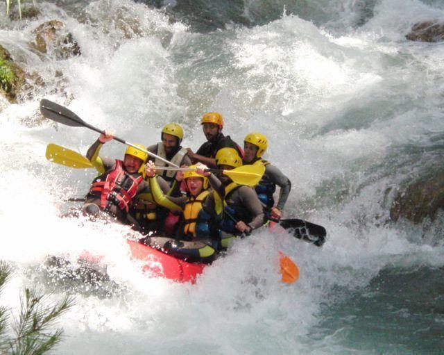 Rafting Aguas Bravas en Montanejos Castellón