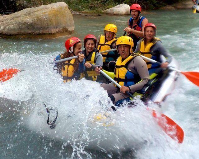 Rafting Aguas Bravas único en la Comunidad Valenciana