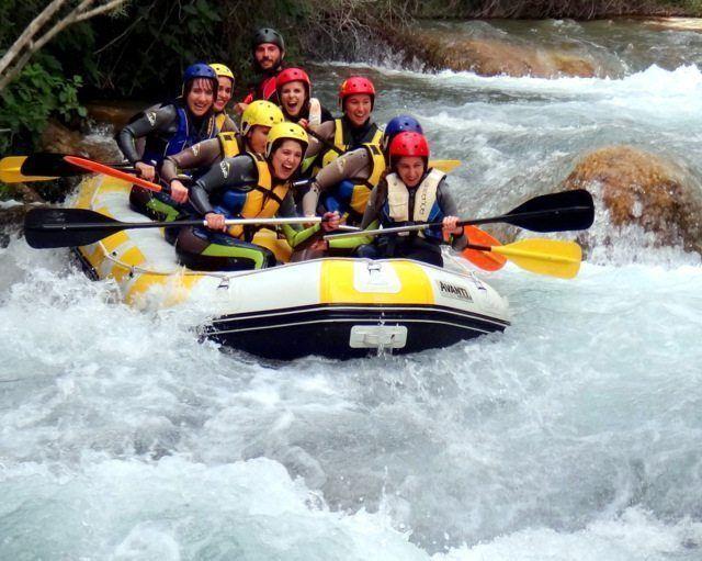 Rafting Montanejos clase 3