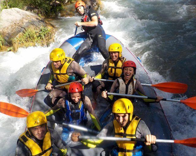 Rafting Valencia Montanejos