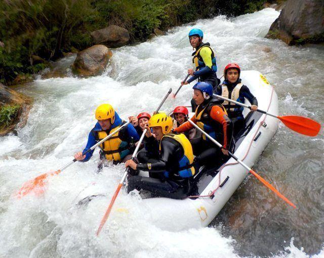 Rafting excursiones escolares