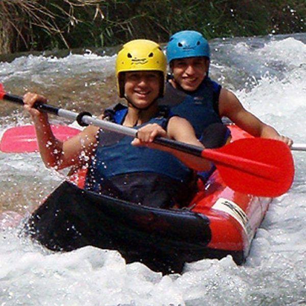 Kayak doble hinchable