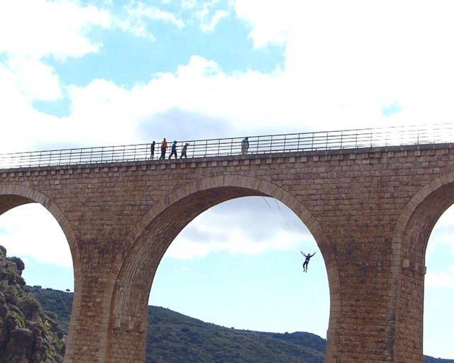 Puenting Somos Aventura Albentosa (Teruel)