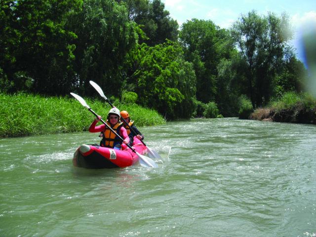 kayak hinchable Aguas Bravas