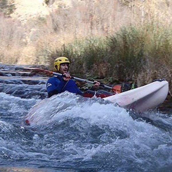 Kayak individual Aguas Bravas