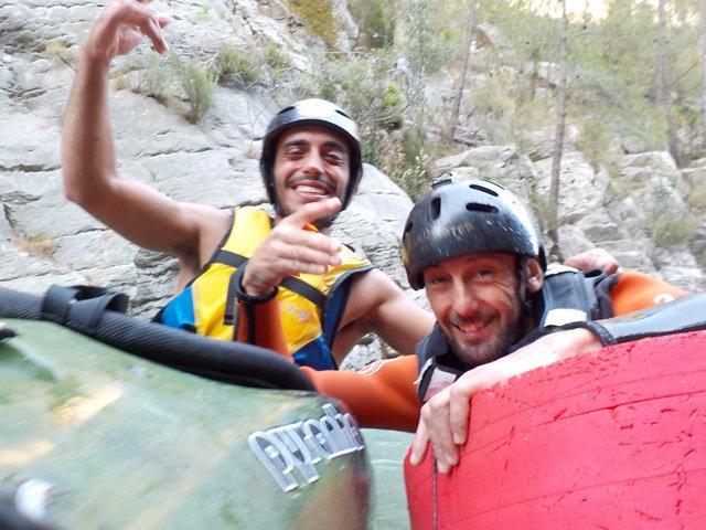 David Gallego con Adan