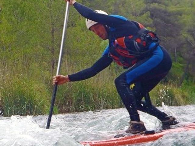 David Gallego Paddle surf