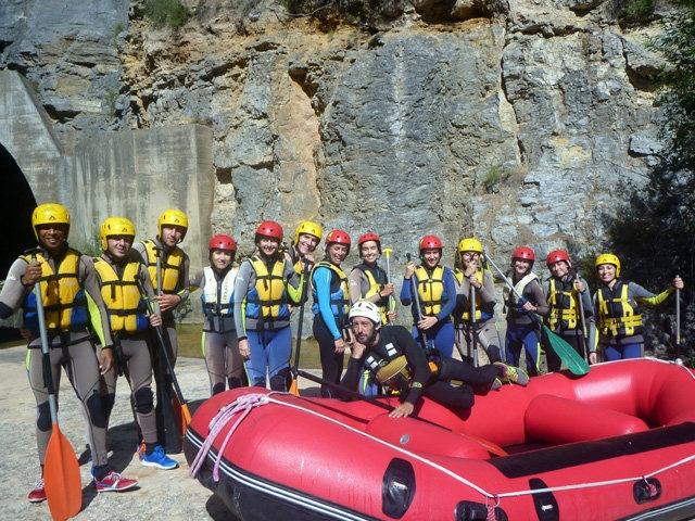 David Gallego Rafting