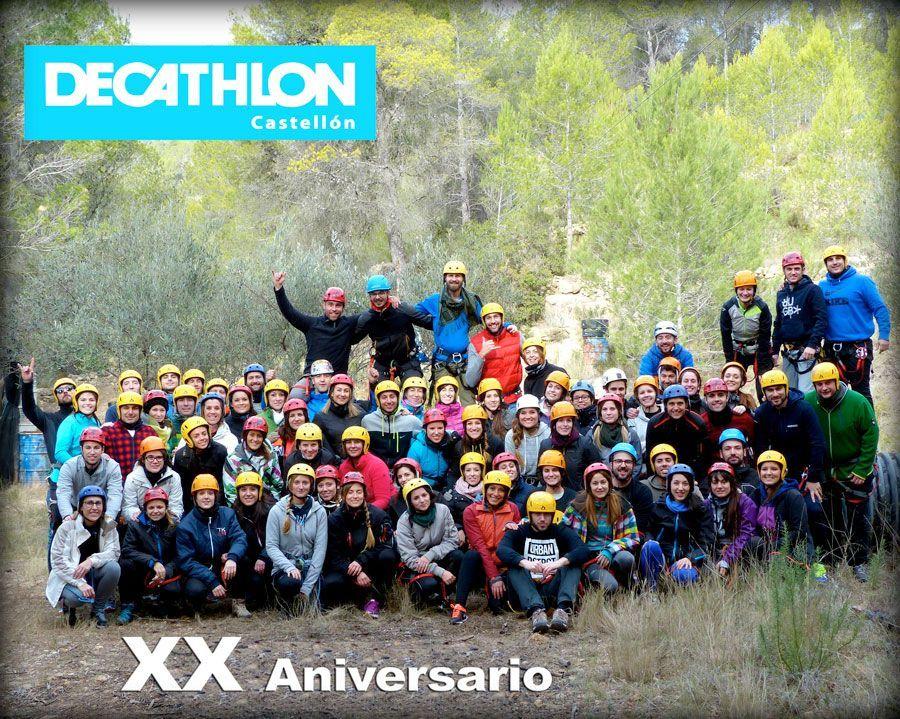 Foto Aniversario Decahtlon Castellon