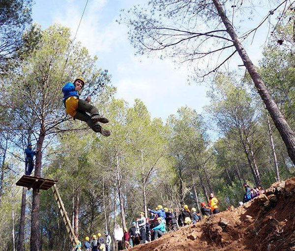 Multiaventura con Decathlon